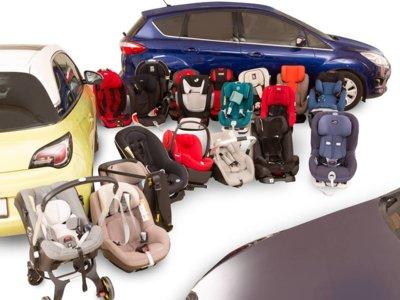 Sillas infantiles de coche: el 37% suspende el test europeo de seguridad