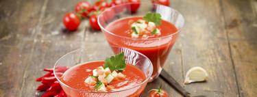 Nueve ingredientes con los que transformar tu gazpacho