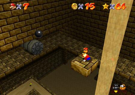Super Mario 64: cómo conseguir la estrella Pyramid Puzzle de Shifting Sand Land