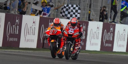 Marquez Dovizioso Catar Motogp 2019