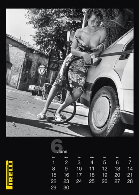 Pirelli 2014 Helmut Newton Calendario