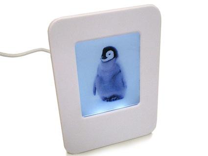 Marco de fotos con hub USB