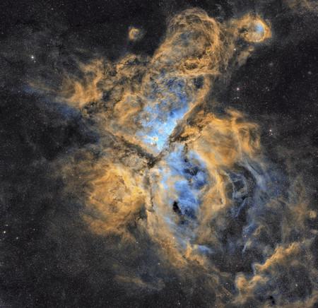 The Carina Nebula R Petar Babi C