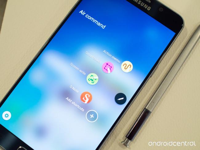 Galaxy Note 5 Blue Air Command