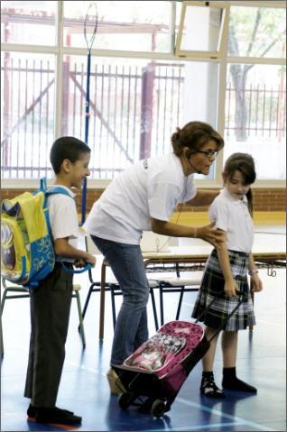Los escolares madrileños aprenden a cuidar su espalda