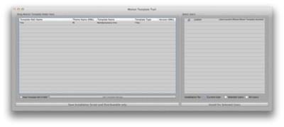 Motion Template Tools, crear un instalador de tus plantillas de Motion 5 para Final Cut Pro X