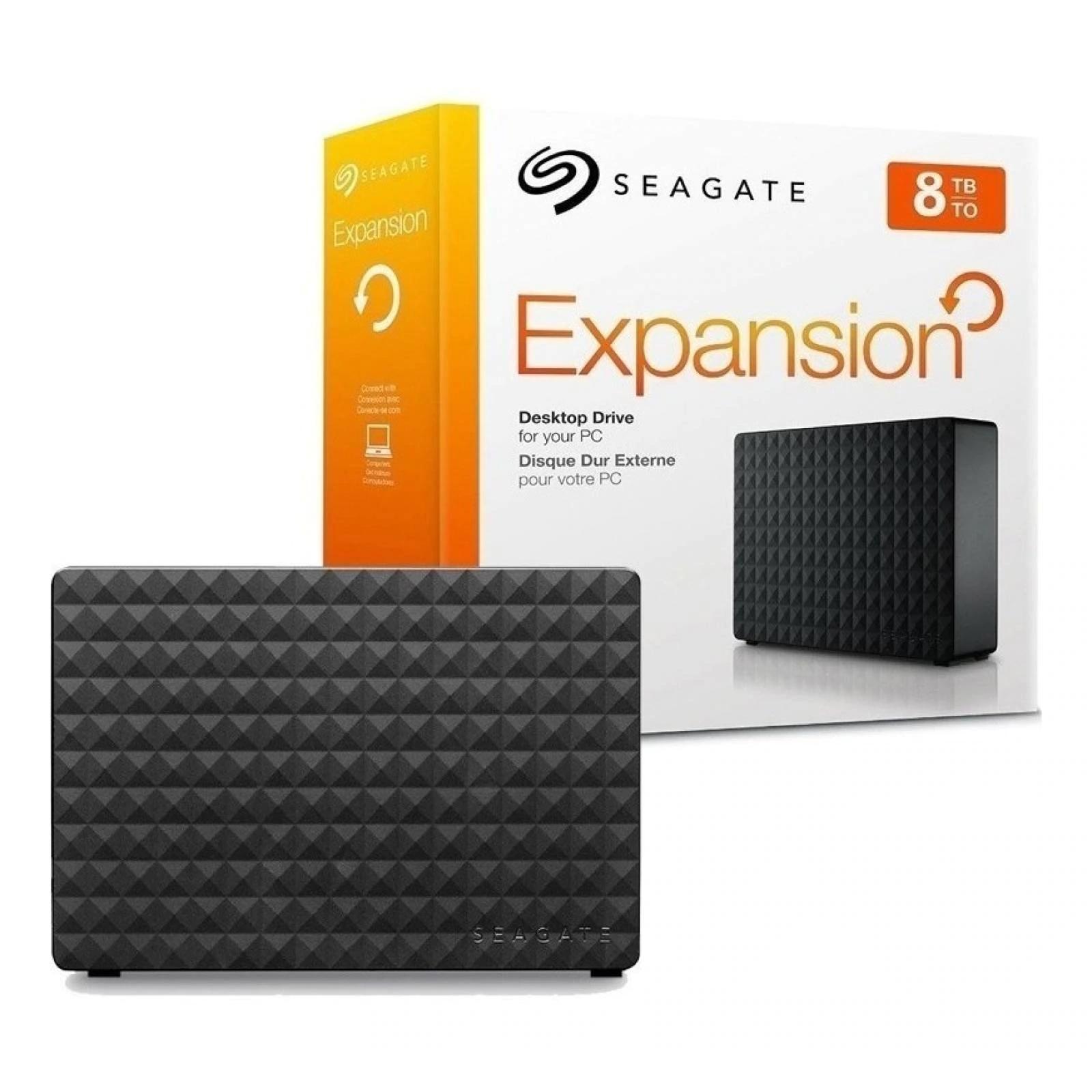 Disco duro Seagate Expansion externo 8 TB USB 3.0