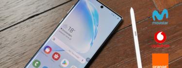 Dónde comprar los Samsung Galaxy Note10 y Note10+ más baratos: comparativa mejores ofertas con operadores