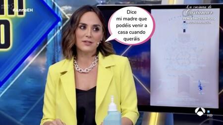 Tamara Falcó se pone intentisa en 'El Hormiguero' y dedica estas palabras al equipo de Pablo Motos