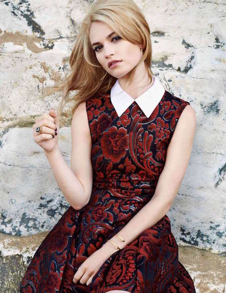 Lily James Tatler Uk 02