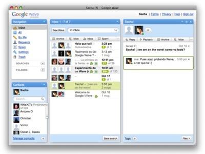 Waveboard, cliente de Google Wave para Mac OS X