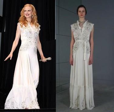 Nicole Kidman o cómo estropear un vestido de Balenciaga