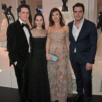 Los looks de las invitadas a la cena de inauguración de la nueva exposición de Dior son así de ideales