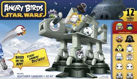 Rovio ofrece nuevos detalles sobre la mezcla de las licencias Star Wars y 'Angry Birds'. Habrá merchandising para aburrir