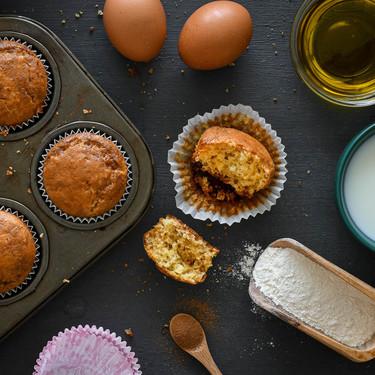 Receta de magdalenas caseras bajas en azúcar: más saludables, pero igual de deliciosas