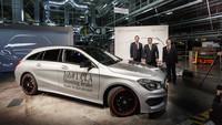 Mercedes-Benz CLA Shooting Brake, en Kecskemét ya han comenzado a fabricarlo