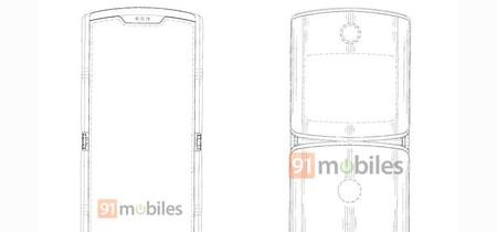 El futuro Motorola RAZR tendrá una pantalla plegable según una patente de Motorola