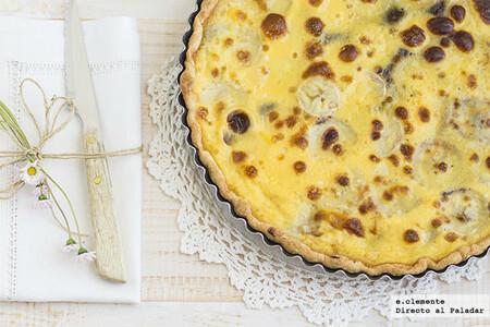 Tarta tibia fácil de plátano y chocolate: receta para conquistar