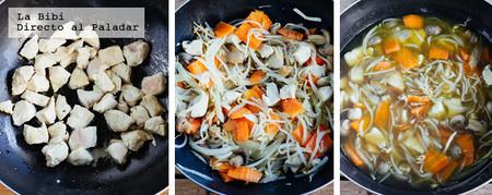 Pollo Chop Suey Prep
