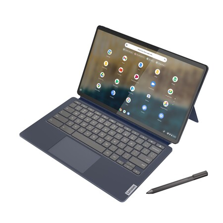 Ideapad Duet 5 Chromebook 13 6 Abyss Blue Cover Screen