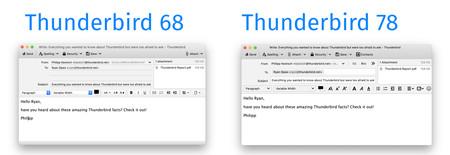 Thunderbird Redactar Email