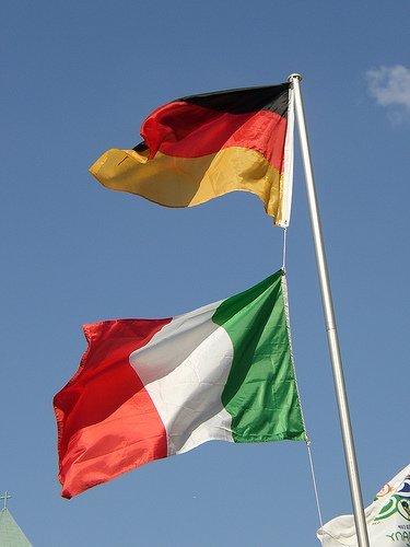 Alemanes e italianos se echan a la calle
