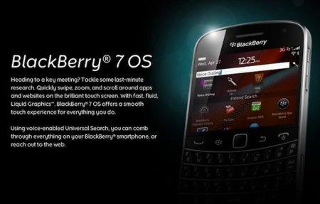 BlackBerry presenta BlackBerry OS 7 para sus nuevos dispositivos