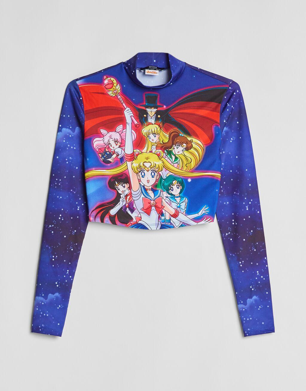 Camiseta manga larga Sailor Moon.