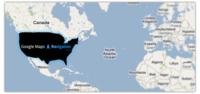 Google Maps Navigation bloqueado fuera de los Estados Unidos