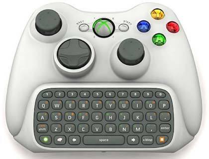 Microsoft lanzará un chatpad para Xbox 360
