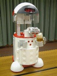 Robot frigorífico que te sirve las bebidas