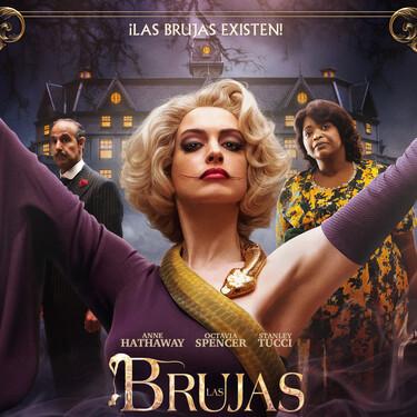 Tráiler de 'Las Brujas': Anne Hathaway muestra su lado más aterrador en la nueva versión de la popular novela de Roald Dahl