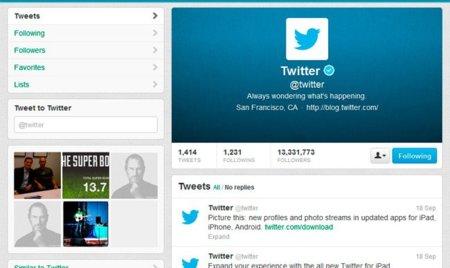 Cómo subir una cabecera al nuevo diseño de perfil de Twitter