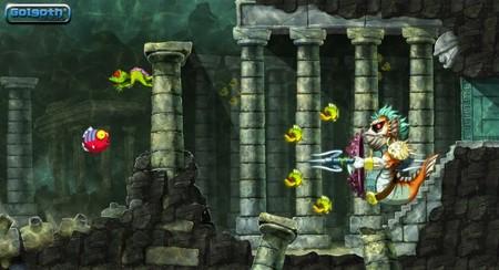 'Toki'. Desvelado el mini-jefe de la segunda fase y confirmadas sendas versiones para PSN y WiiWare