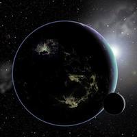 La luz de las ciudades podría revelar vida extraterrestre