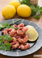 Receta de gambas al limón con salsa Hoisin
