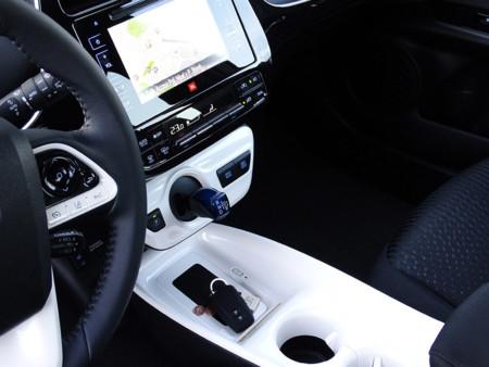 Prueba Toyota Prius 2016 Interiores dirección
