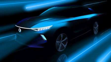 SsangYong ofrece un aperitivo de su e-SIV Electric Concept, un SUV que promete 450 km de autonomía