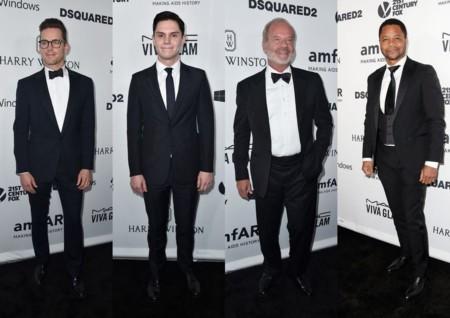 La gala amfAR de Los Ángeles y Dsquared2 reúnen a los hombres más elegantes del momento