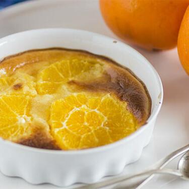 Receta de gratén de naranja y crema, un postre tan apañado como rico