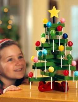 Árbol de Navidad de chupa chups