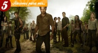 Cinco razones para seguir viendo 'The Walking Dead'