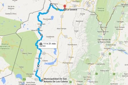 Tramo San Andres Quiaca