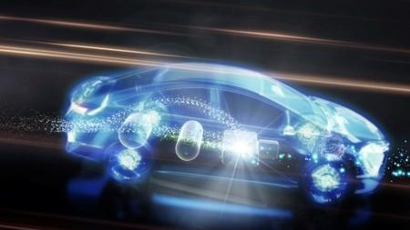 Cómo funciona la célula de combustible de Toyota FCHV-adv