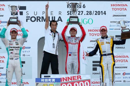 Podio Sugo 2014 Super Fórmula