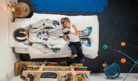 ¿Cómo son las camas de los astronautas?