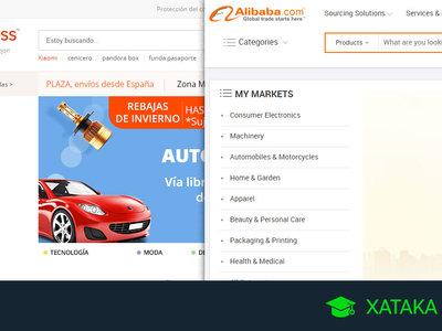 ¿En qué se diferencian Alibaba y AliExpress?