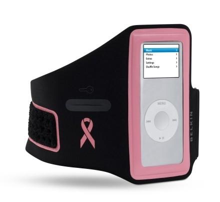Accesorios Belkin para el iPod de ayuda contra el cáncer