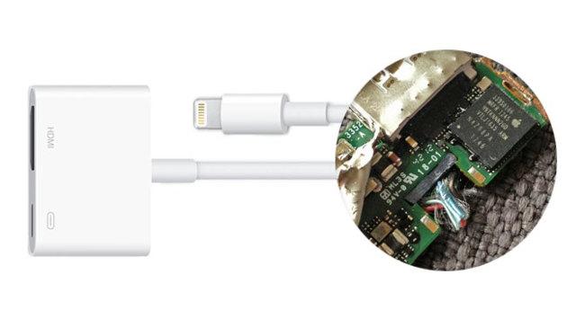 Adaptador de conector Lightning a AV digital HDMI