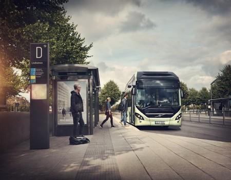 El autobús híbrido Volvo 7900 se presenta oficialmente en el Salón del Vehículo Industrial de Hannover